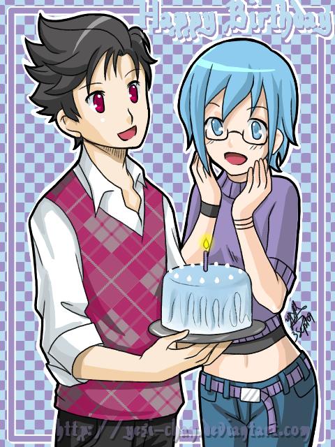 Happy Birthday Celestine by yesi-chan