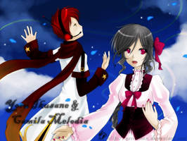 Rinascita-Camila and Yoru by yesi-chan