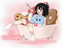 Utaune Nami Lots of Laughs by yesi-chan