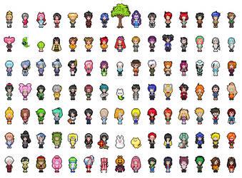 Pixel UTAUs by yesi-chan
