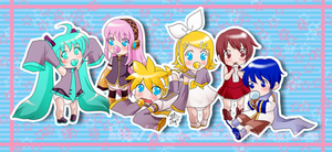 VOCALOID Babies by yesi-chan