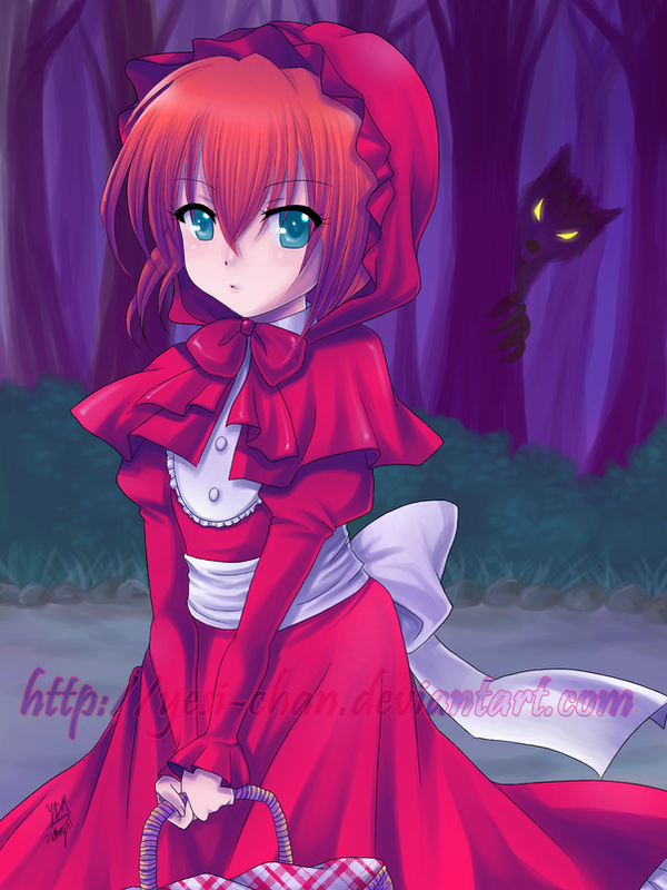 Little Red Riding Hood by yesi-chan