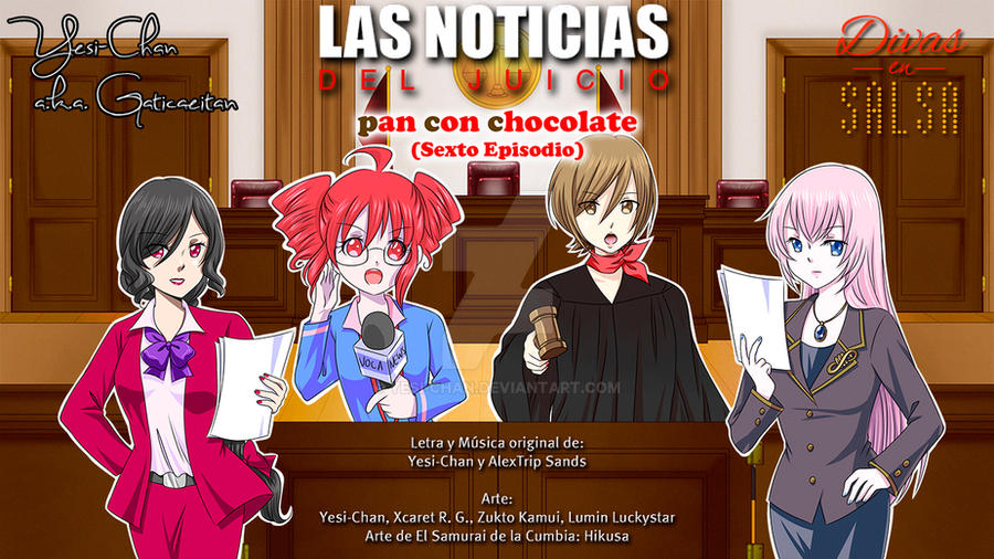 News of the Trial - Pan con Chocolate Chapter 6 by yesi-chan