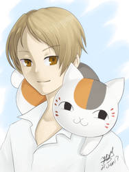 Natsume and Sensei by yesi-chan