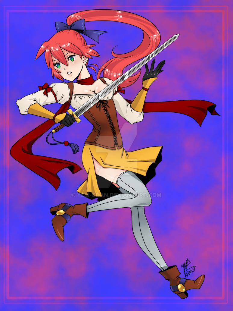 Magical Swordswoman by yesi-chan