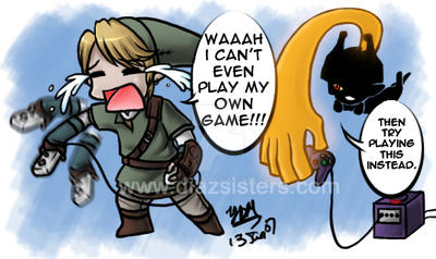 Link and the wii... by yesi-chan