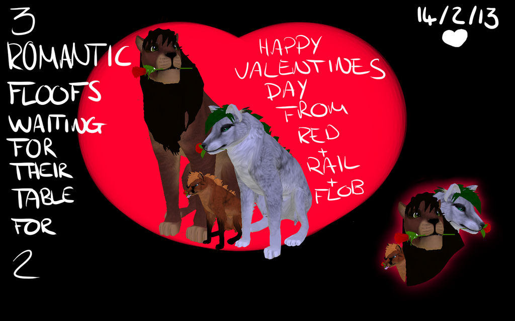 Wishing you a happy valentines day! by Z-A-D-Y