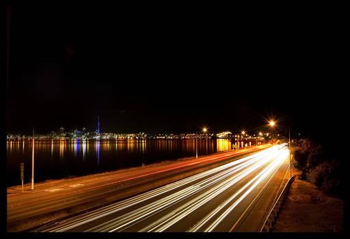 Motorway by the Bridge