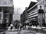 Der Traum vom Westen,Checkpoint Charlie, W. Berlin by TheFaintPen