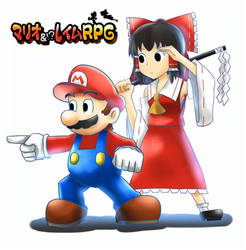 Mario  Reimu RPG