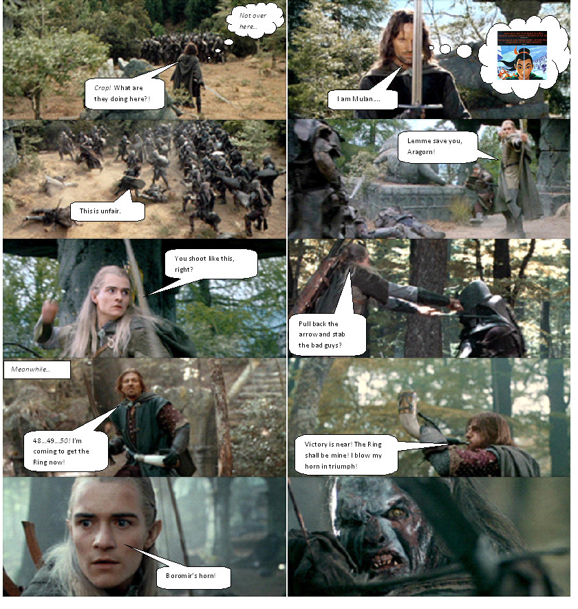 Boromir s Death Part 3...