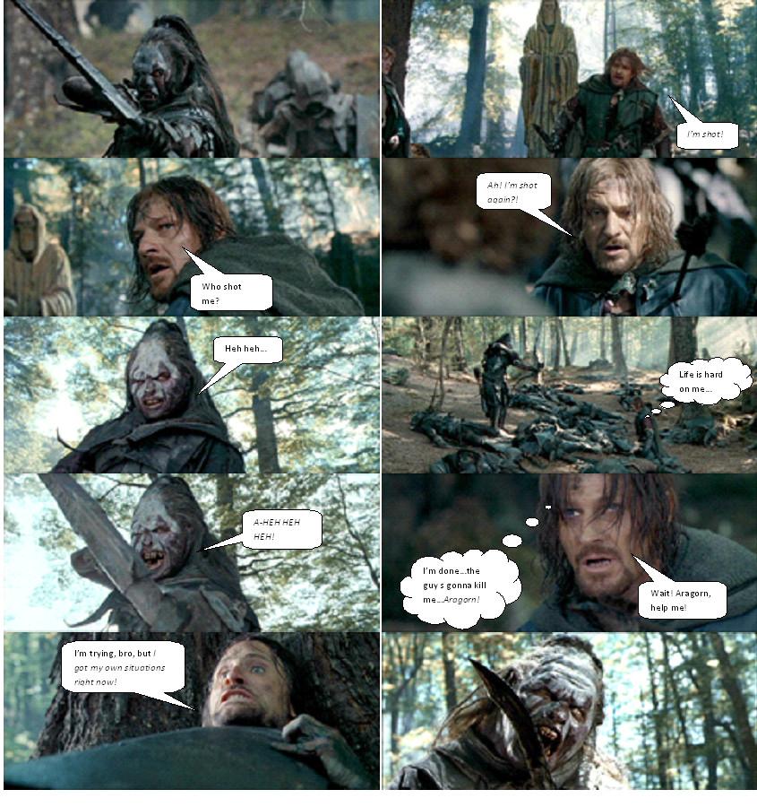 Boromir s Death Part 4...