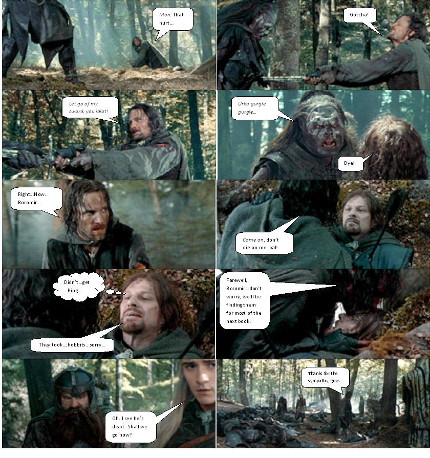 Boromir Death Boromir ...