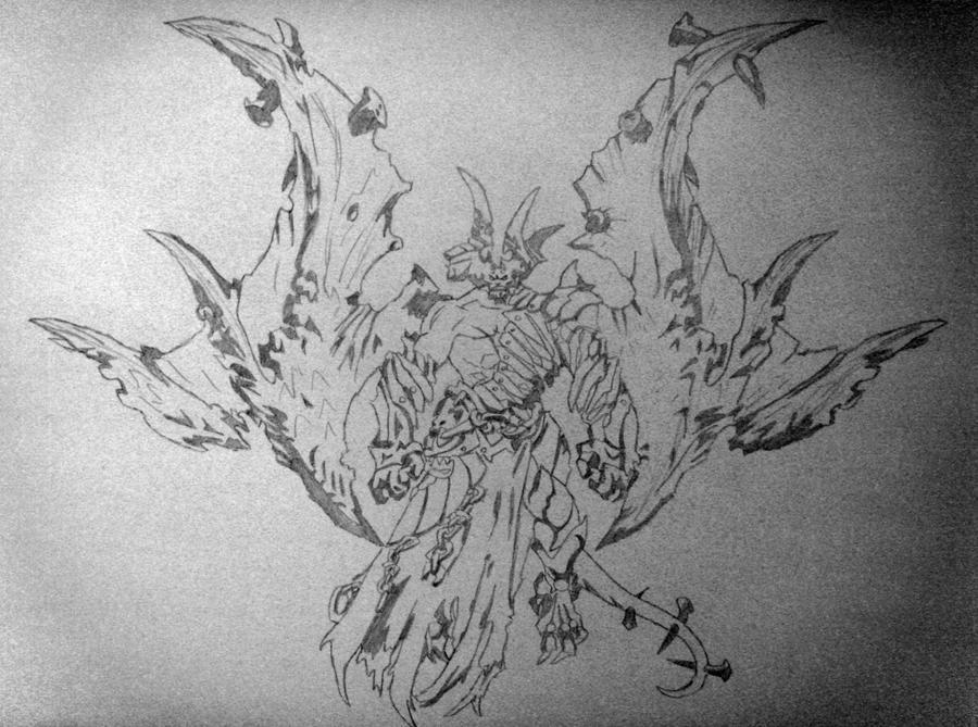 Darksiders Samael by sevenfeetunderwater on DeviantArt