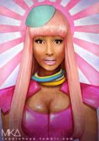 Nicki Minaj - Harajuku Barbie by MikaMaus