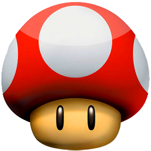 Super Mushroom Dock Icon by SilentBang