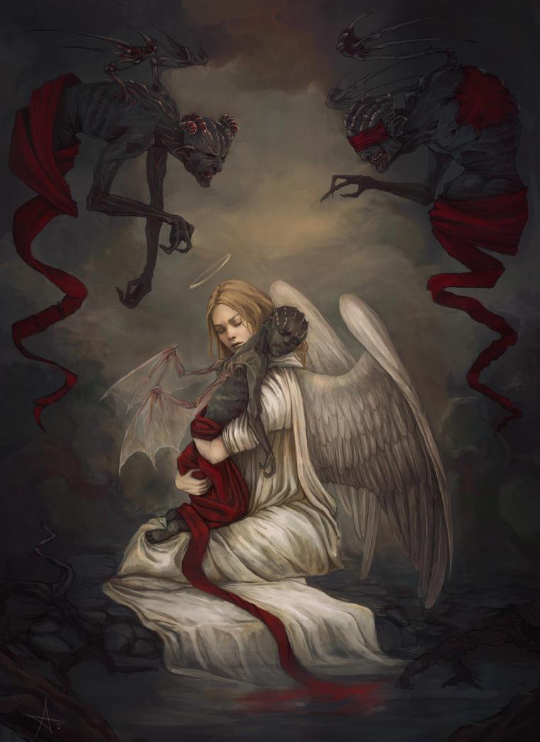 Sancti diabolo by AizelKon