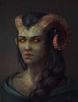 Commission - detailed portrait