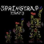 (FNAF 3 (Custom Sprite)) Springtrap from Fnaf3