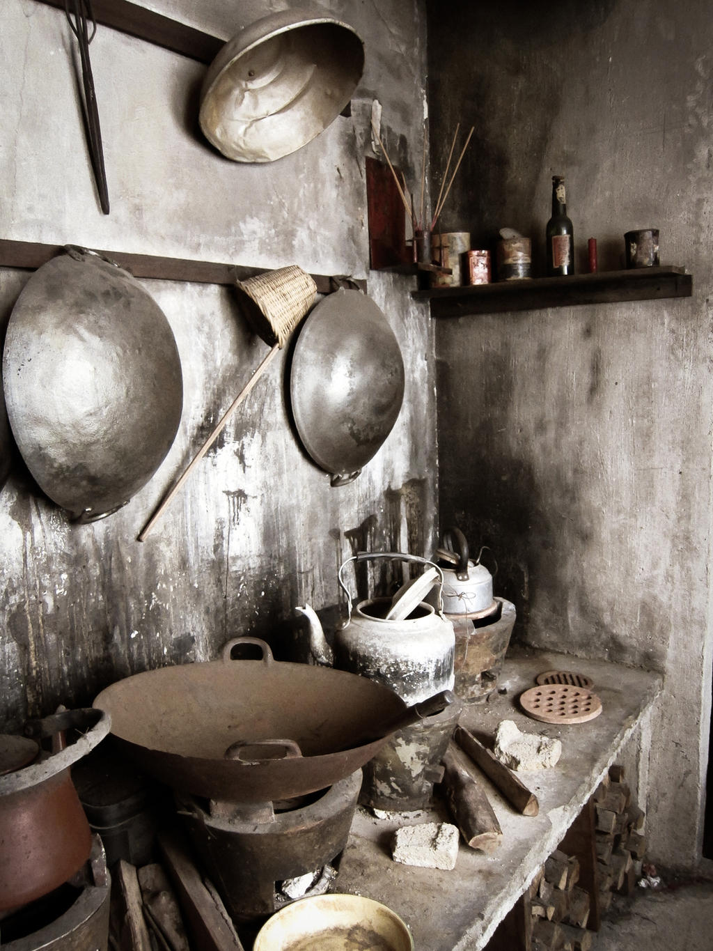 Old Chinese Kitchen By Niksi13 Old Chinese Kitchen By Niksi13