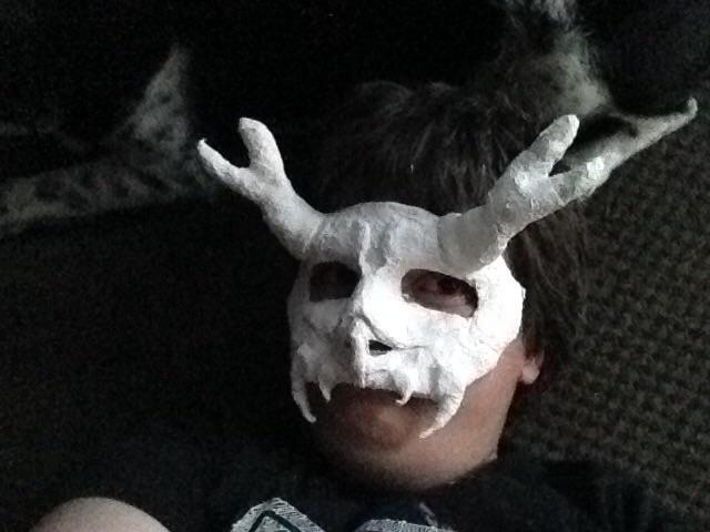 Windigo mask WIP by GNGTNT105