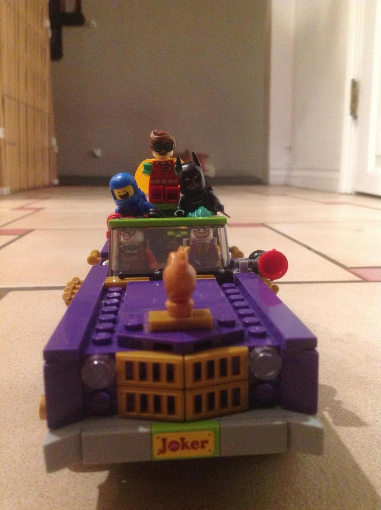 Tak'in a ride in Mr.J's Lowrider by GNGTNT105