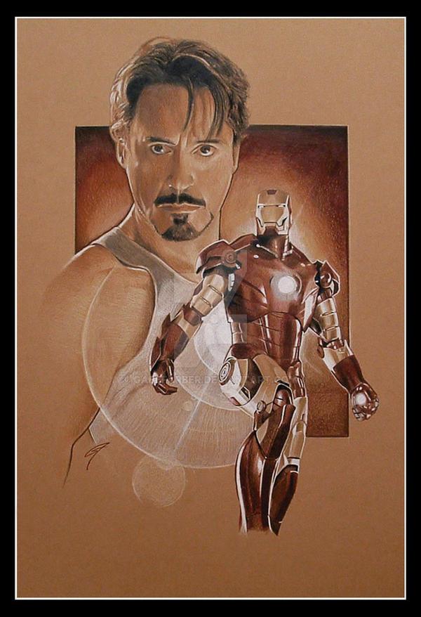 Iron Man by GabeFarber