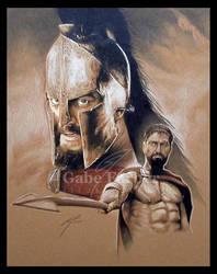 Leonidas by GabeFarber