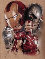 Iron Man - Armour Evolution