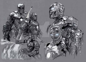 Iron Man Mark I and II Armour