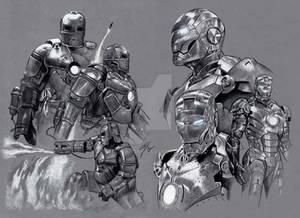 Iron Man Mark I and II Armour