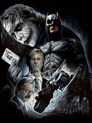 The Battle For Gotham's Soul by GabeFarber
