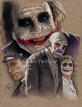 Heath Ledger as the Joker favourites by hotkittyinflames on