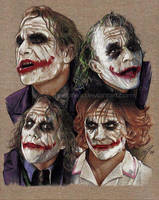 Joker Expressions 2 by GabeFarber