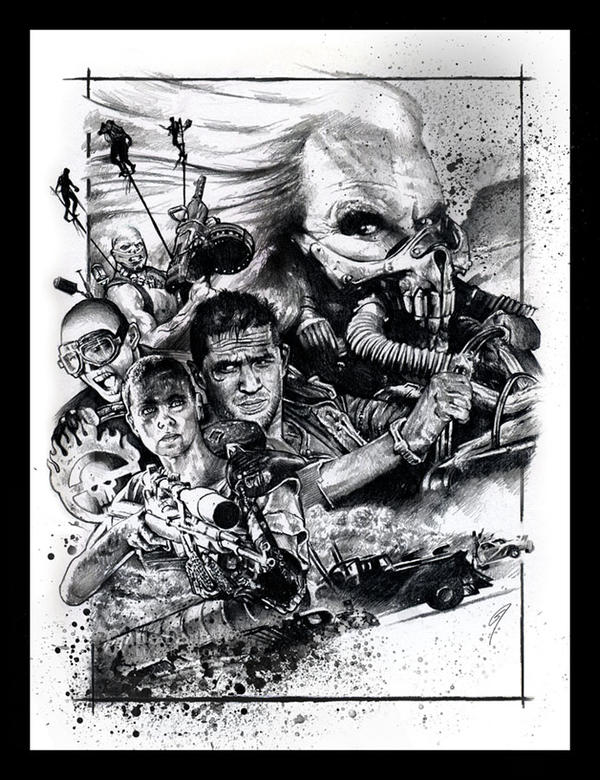 Mad Max: Fury Road by GabeFarber