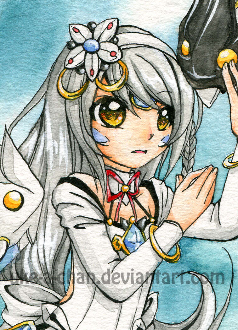 Eve Code: Electra ACEO card by uke-a-chan