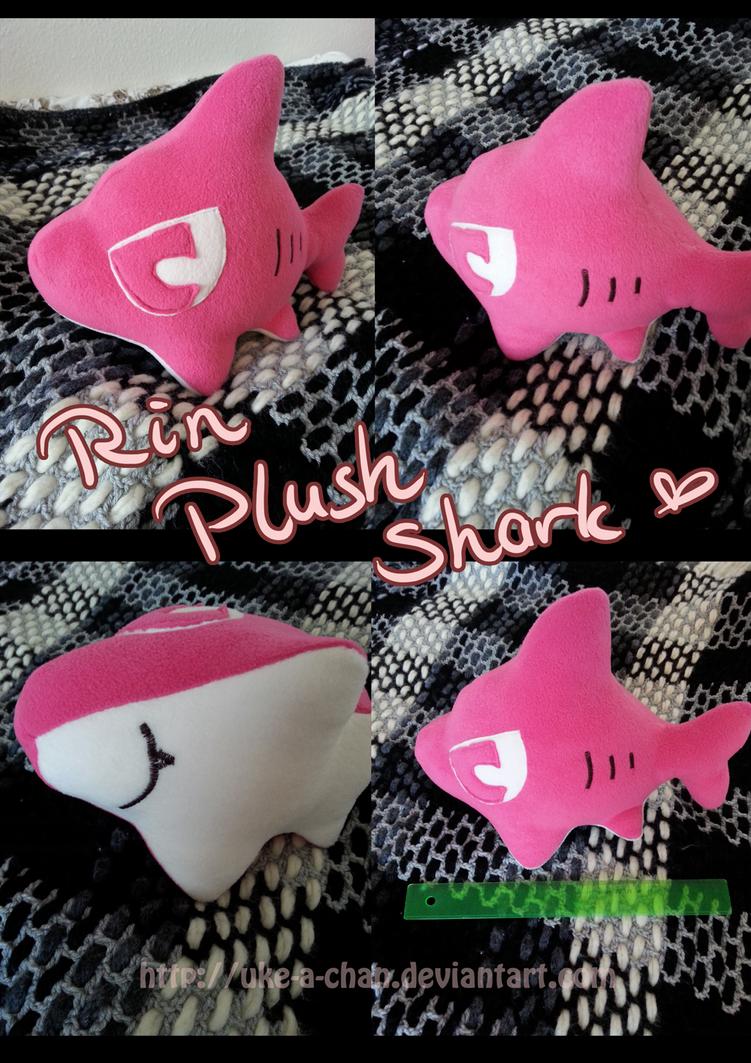 Rin Plush Shark by uke-a-chan