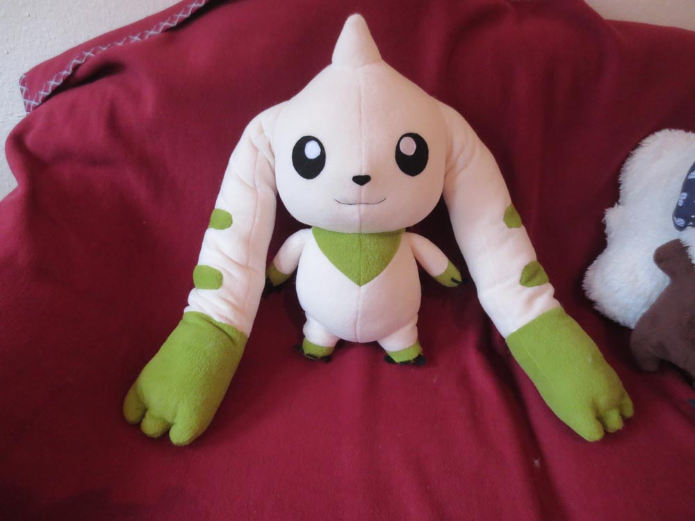 Terriermon Plush by uke-a-chan