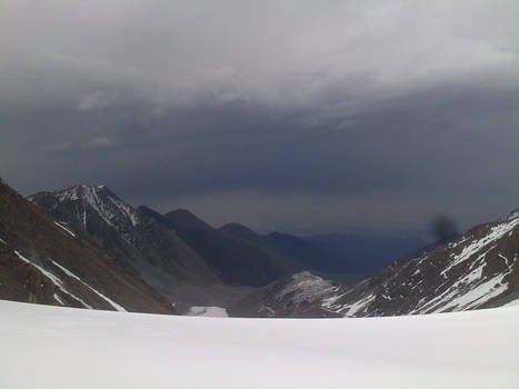 Baichechekei pass (4300m), Kyrgyzstan