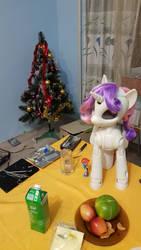 Good to celebrate NY with pony