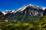 Swiss Peaks by QuirkyPhotoz