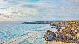 Bedruthan Steps by Purpleskulls