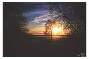 The Lake at Sundown