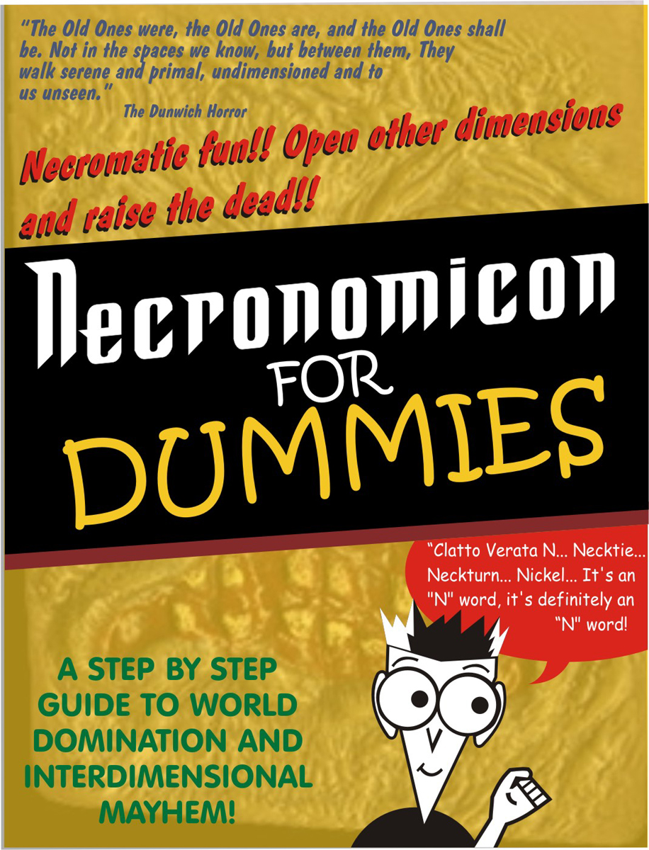 Necronomicon for Dummies by godzillasmash
