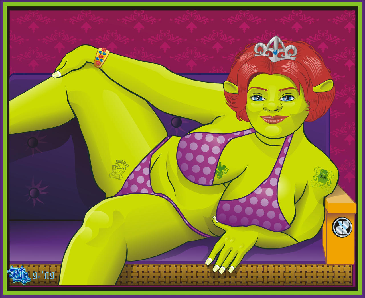 Xxx of sherk cartoon with fiona in  nude thumbs