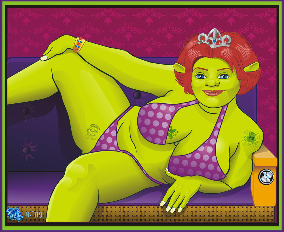 Nude fiona from shrek pics porncraft comic