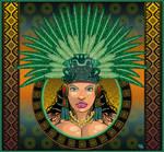 Aztec Queen poster