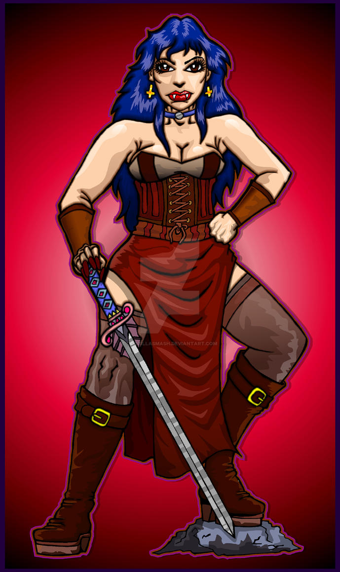 Vampire countess clr by godzillasmash on DeviantArt