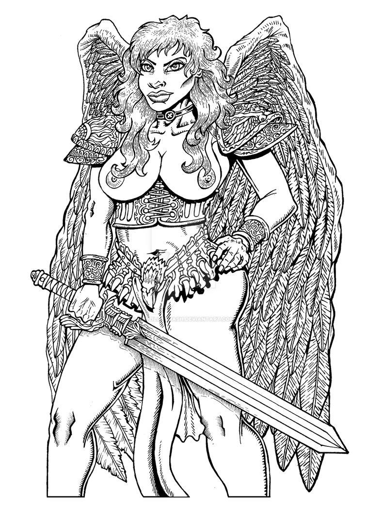 Angel Of Vengence by godzillasmash