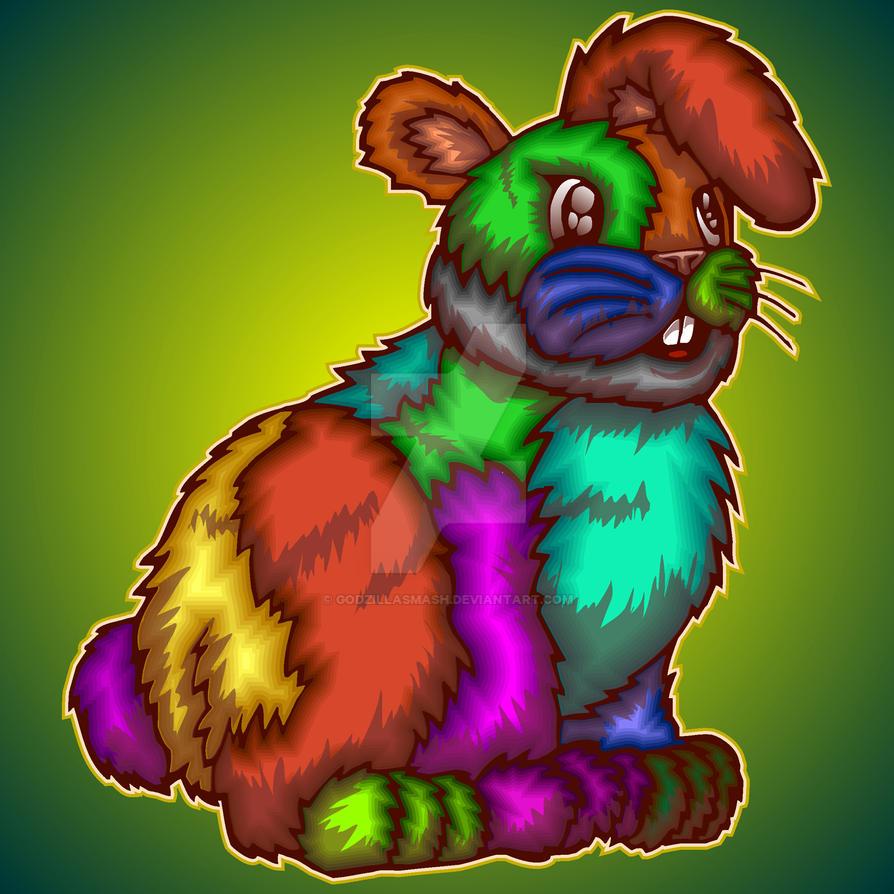 Funny Bunny by godzillasmash